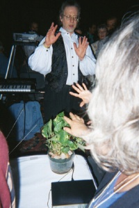 Steven Halpern and Music of the Plants at the 2000 ICSC