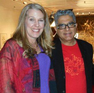 Cynthia Sue Larson with Dr. Deepak Chopra
