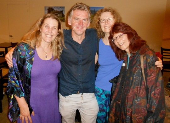 Foundations of Mind reception with Cynthia Sue Larson, Seán Ó Nualláin, Beverly Rubik, and Maria Syldona