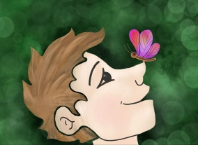 Alina butterfly nose perception